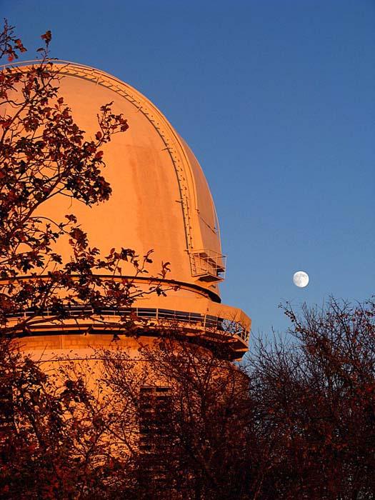 Башня азт-11 и Луна