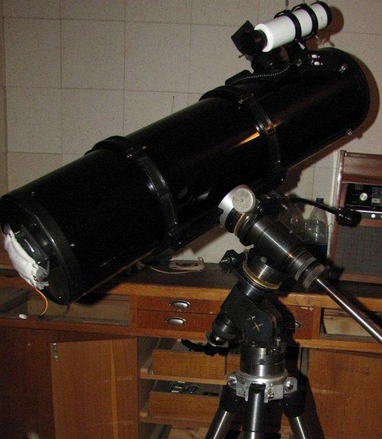 Ньютон 200мм и Дискус-1