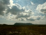 Вдали - верхнее плато Чатыр-Дага