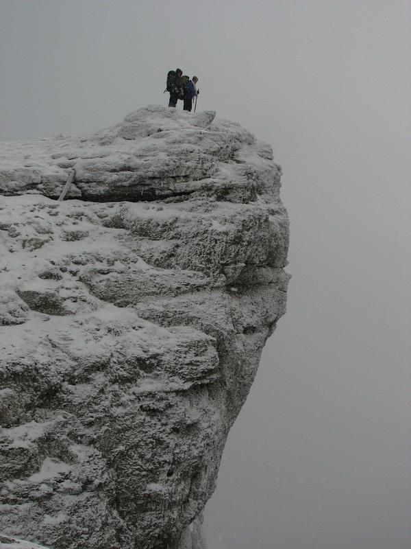 Над замерзшей пропастью