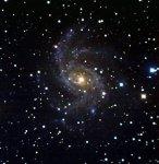 "Галактика NGC6946 ""синий вариант"""