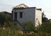 Начало работ над крышей