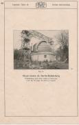 Купол немецкого телескопа в Берлинской обсерватории
