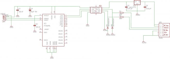Схема переходника HEQ5-PC